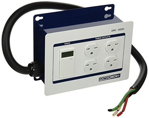 Power Box DPC-4000-240V-4HW (30Amp, Four 240V Outlets) Hardwire, 4 Wire by Power Box