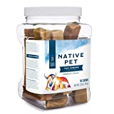 Native Pet Yak Chews for Dogs (Bulk Size - 10 Medium Chews). Pasture-Raised and Organic Himalayan Churpi Chew. Long Lasting, Low Odor, and Protein Rich Reward Treat.