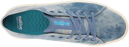 Inheemse Monte Carlo Denim Sneaker Wassen Met Zuur / Bone White