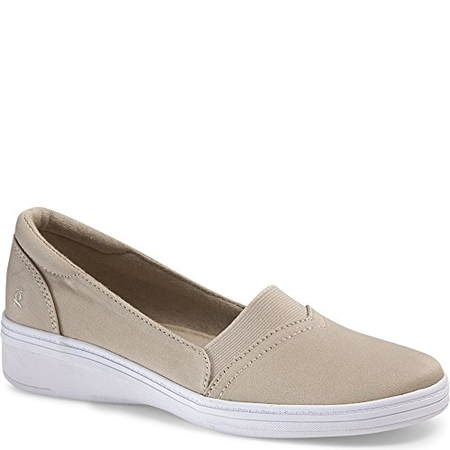 Grasshoppers Women's Jade Slip-On,Stone Stretch Twill,US 5 N ()