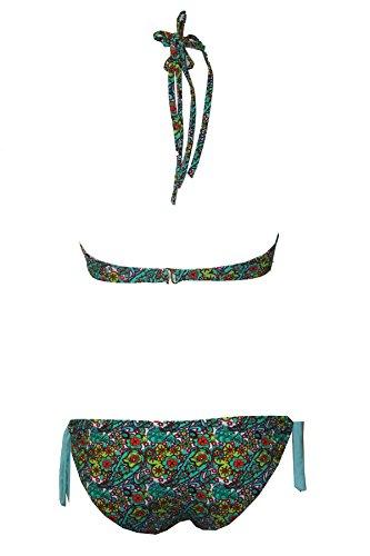 Tamari Beachwear - Conjunto - para mujer Multicolored Flower