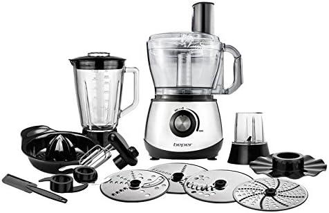 Robot de cocina multifunción 800 W – Beper 90.475: Amazon.es: Hogar