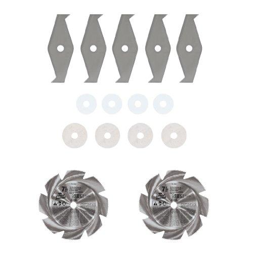 Dado Circular Saw - Vermont American 26743 7-Inch Thin Rim Steel Dado with 5/8-Inch Arbor