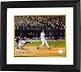 Cal Ripken Jr. Signed Photograph - 8x10 Custom Framed Last At Bat) - Autographed MLB Photos
