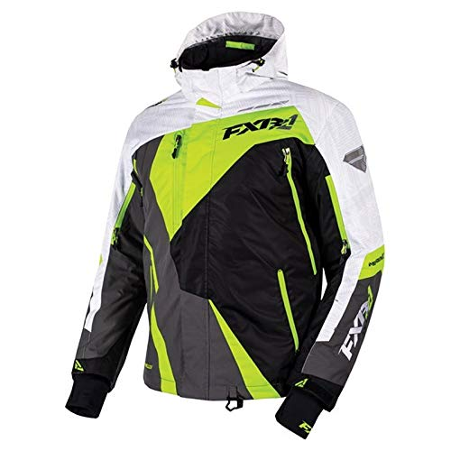 FXR Mission X Jacket - Electric Lime/Black/Charcoal - XLG