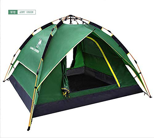 YShoot Camping Tent Outdoor Light Weight Family Dome Tent Pop Up Instant Portable Compact Shelter Easy Set Up by YShoot