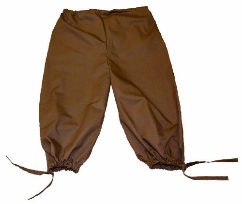 Alexanders Costumes Renaissance Knickers, Brown, One Size (Pirate Queen Costume)