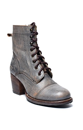 Bed|Stu Women's Judgement Leather Boot (7 B(M) US, Smoke Grey Lux)