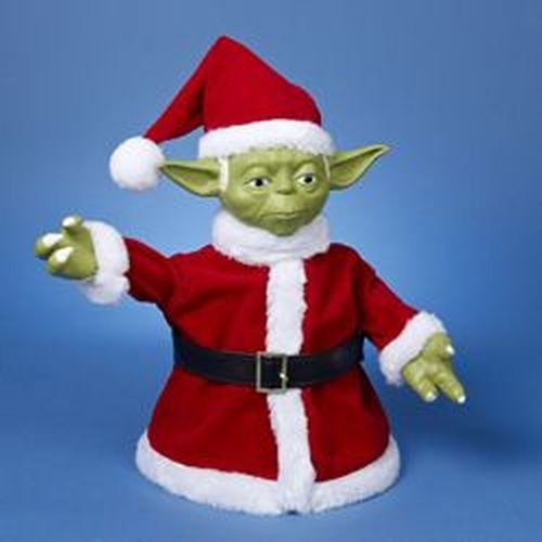 Kurt Adler Classic Yoda Table Piece/Treetop Figurine,