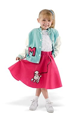 Poodle Skirt Lettermans Jacket from Teetot Inc.