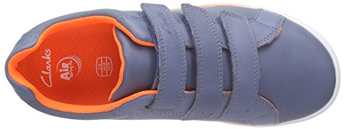 Clarks Kids Jupiterhop Jnr - Zapatillas Niños Azul (Blue Leather)