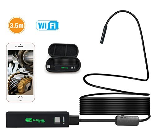 Reviews/Comments Professional HD Wireless Endoscope with