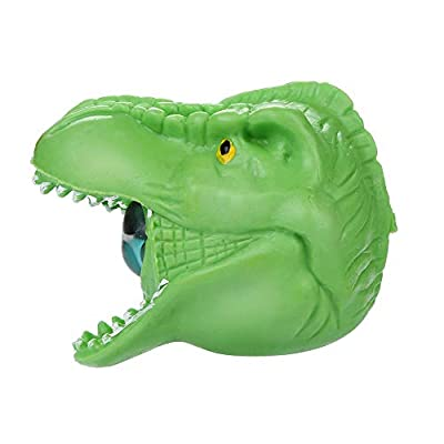 Hot ???? Stress Reliever Toys Spongy Bead Rainbow Ball Squishies Stress Relief Dinosaur Toy Collection Gift, Decorative Props Stress Relieve (Green): Toys & Games