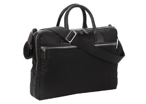 Nava Down Town Briefcase Black - Bolsa unisex Negro (Nero)