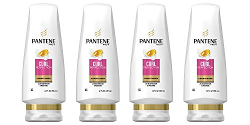 Pantene Pro-V Curl Perfection Conditioner, 12 Ounce, 4 Count