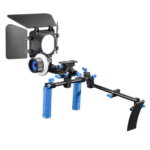 Price comparison product image walimex pro Intermediate Video Set with Video Rig,  Matte Box and Follow Focus System
