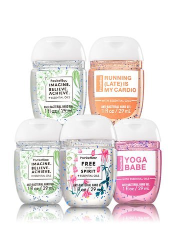 Buy Bath Body Works Pocketbac Hand Gel Sanitizer Say With It 5