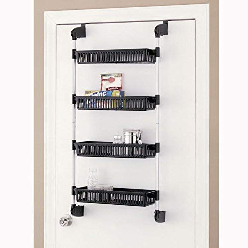 Organize It All Over The Door 4-Basket Hanging Storage Unit With -