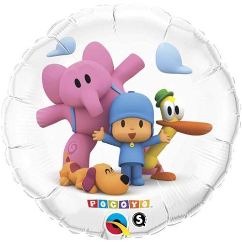 18 Pocoyo & Friends Foil Balloon – Pack of 5 by Single Source Party Supplies