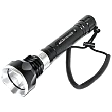 MagicShine SCUBA Diving LED Flashlight with Battery and Charger, 1000-Lumen, Black