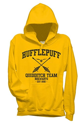 Sweatshirt Hufflepuff Quidditch Harry Potter - FILM by Mush Dress Your Style