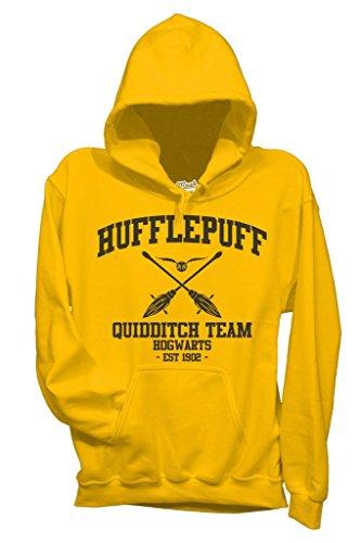 Your By Mush Style Dress Gialla Harry Hufflepuff Quidditch Film Felpa Potter nRxwYOR8q