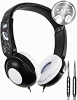 Kids Headphones, Mumba Volume Limited Over Ear Headphones, 85 Safe Listening Adjustable Headsets with Microphone for Kids Children (Camouflage)