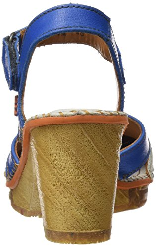 Art Women's 0313 Memphis Amsterdam Closed Toe Sandals Blue (Sea Sea) sale Inexpensive latest collections sale online PdrcpZTZ