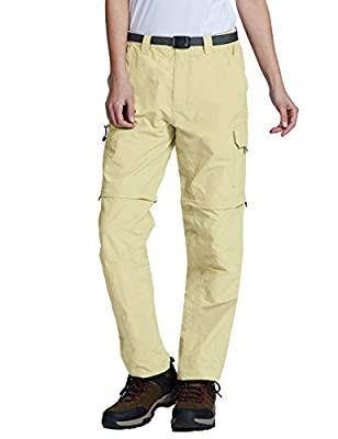 Baleaf Women's Quick Dry Convertible Cargo Pants Water Repellent UPF 50+