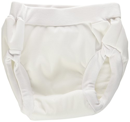 Kushies Baby PUL Training Pant, White, Medium