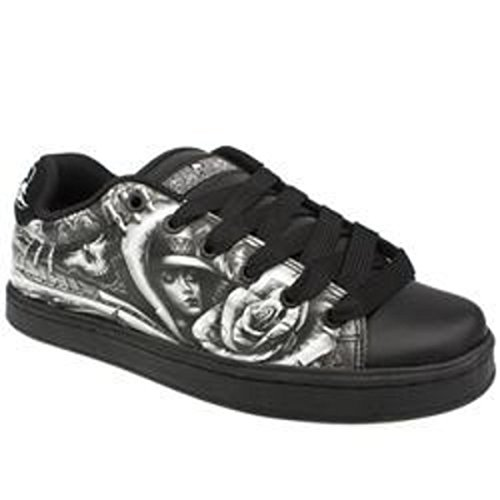 Osiris Troma II pattinare scarpe Abel II Nero - skateboard shoes, schuhgrösse:33