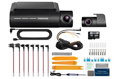 Motion Control Charge Plates (THINKWARE F800 PRO 2 Channel HD Dash Camera | 32GB Micro SD Card with Thinkware Hardwiring Kit | WiFi Capability)
