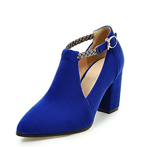 Women Pointed Stewart Red Shoes Wedding Beverly Red Fashion Lady Pumps High Toe Size Black Elegant Plus Blue 34 Heels 43 Woman FCxqf5nwq