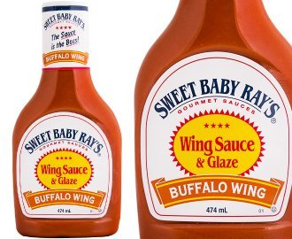Sweet Baby Ray's Wing Sauce & Glaze - Buffalo Wing - 16 FL Ounce Bottles - Pack Of 6