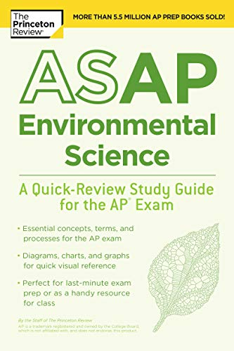 Pdf Teen ASAP Environmental Science: A Quick-Review Study Guide for the AP Exam (College Test Preparation)