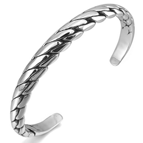 INBLUE Womens Stainless Bracelet Bangle