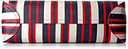 Tommy Hilfiger Th Adamaria Painted Stripes Tote, Navy/Multi