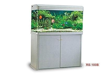 Buy Colourful Aquarium Rs 100b Aquarium Fish Tank 100 X 40 X 60 Cm