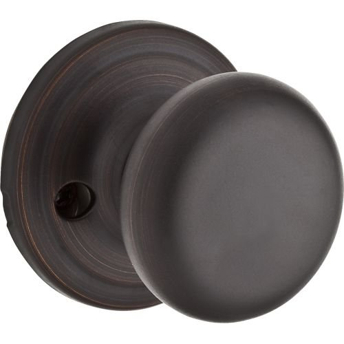 Kwikset Hancock Half-Dummy Knob in Venetian Bronze (Dummy Push Bar)