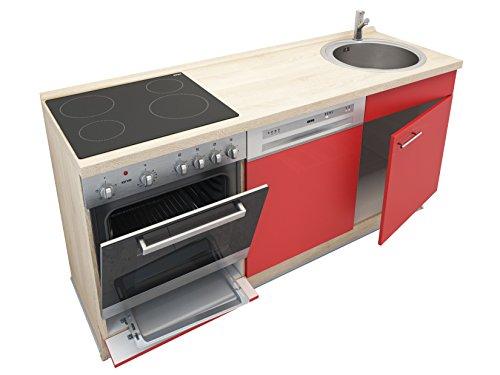 Miniküche mit Geschirrspüler, Spüle, Ofen, Kochfeld, Arbeitsplatte ... | {Miniküche mit geschirrspüler 29}