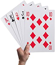 5 X 7 Inch Large Poker Jumbo Playing Cards Giant Deck Poker