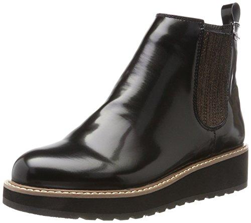 Pepe Jeans London Damen Ramsy Chelsea Boots Schwarz (Black)
