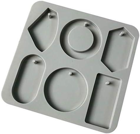キャンドル金型 石けん金型 アロマワックスモールド 3D シリコーン金型 再利用性 全6種  - E:ポリゴン