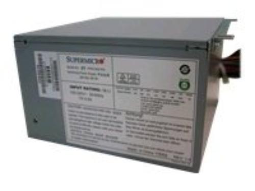 Supermicro Atx12v   Eps12v Power Supply   85 8  Efficiency   500 W   Internal   110 V Ac  220 V Ac Pws 502 Pq