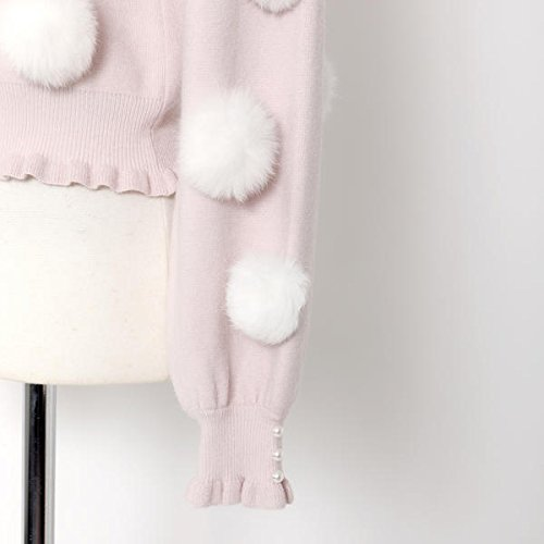 ロディスポット(LODISPOTTO) Sugar sweetsカーディガン /mille fille closet