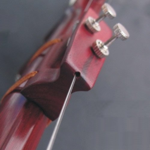Red Sandalwood Erhu Fine Tuners&Qian Jin, All in One, for Erhu, Zhonghu, Banhu, Etc