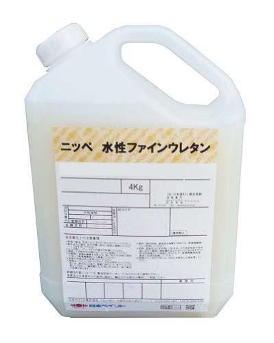 日本ペイント 水性ファインウレタンU100シャニンブルー 4kg B00362TH44
