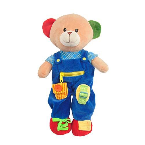 "Linzy Plush 16"" Education Bear Educational Plush from Linzy Plush"