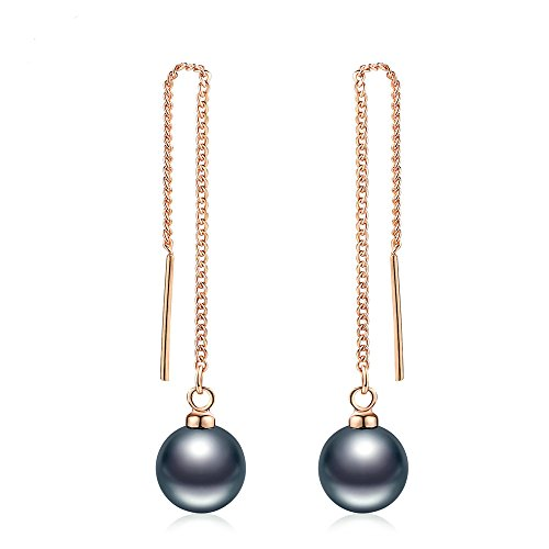 Tahitian Pearl Drop Earrings for Women - Mall of Style (Passion)