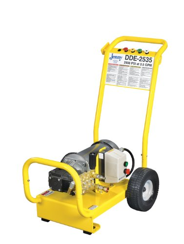 Jenny-DDE2535-E-Electric-Cold-Pressure-Washer-2500-Psi-Pressure-1-Phase-6-HP-460V